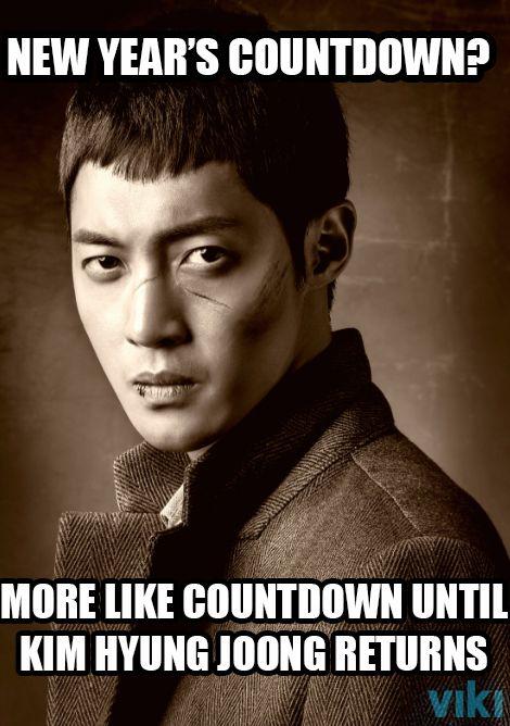 """2014 means Kim Hyun Joong returns in New K-Drama """"Inspiring Generation""""  Worldwide on Viki!"""