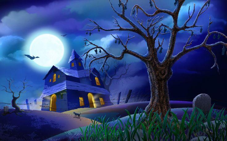 Симпатичные Хэллоуин обои для рабочего стола - HD обои высокого качества 100%