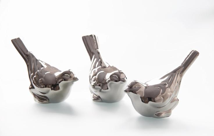Silver Bird Deco Set of 3 from Harvey Norman New Zealand