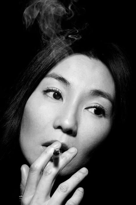 Maggie Cheung (1964) - Hong Kong actress. Photo © Paolo Pellegrin, 2007