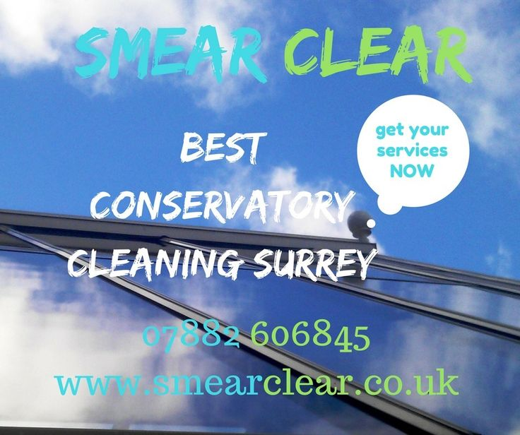 Smear Clear the name of quality and affordable cleaning services. Conservatory Cleaning Surrey Gutter Cleaning Guildford Window Cleaner Farnham.