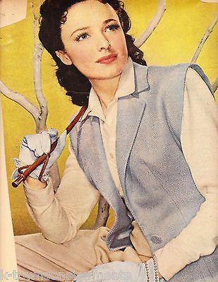 Laraine Day Vintage Magazine Photo Print Poster Clipping
