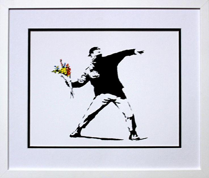 Flower Bomb by Banksy.