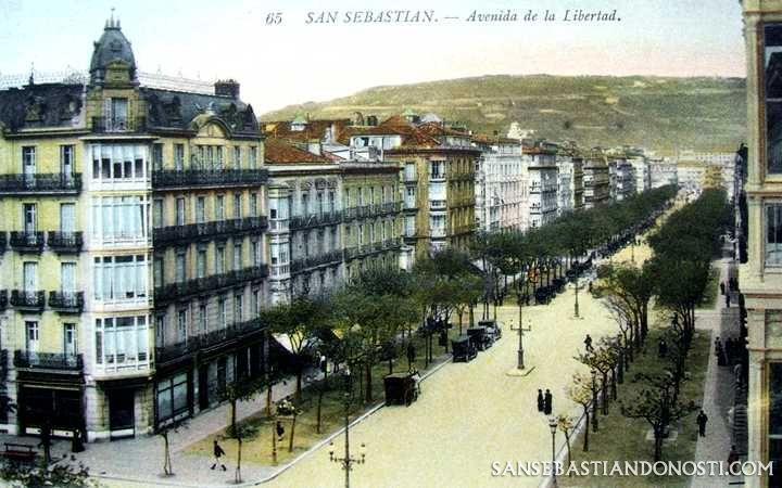 San Sebastián - Avenida de la Libertad (San Sebastián - Donosti)