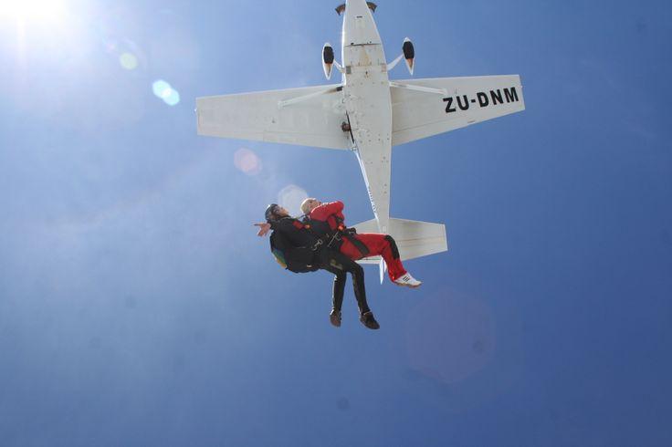 Skydiving at Wonderboom Airport, Pretoria, South Africa