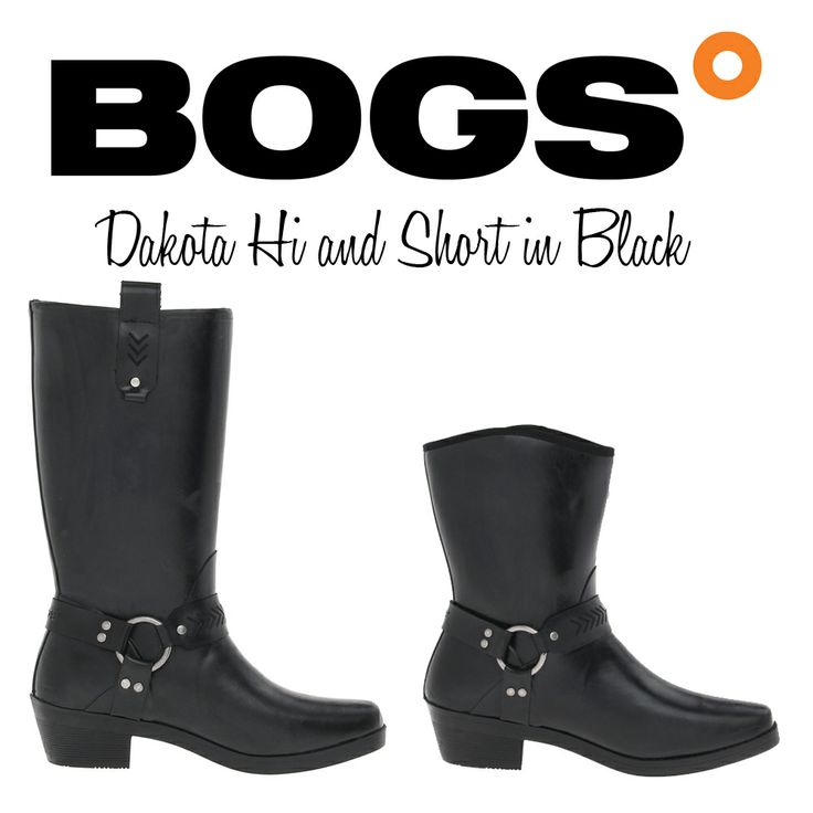 Ever wish you could wear your favorite riding boots in rain, sleet and snow?   Your wish has come true - Meet Dakota Hi and Short from Bogs!  That's right, these gorgeous Western inspired riding boots with hardware details are actually hi quality, natural rubber and 100% waterproof.   Come to the store and pick them up today!  #bogs #winter #boots