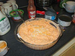 Buffalo Chicken Dip, Super easy to make!
