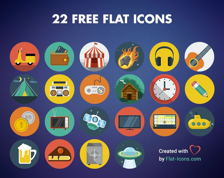 22 Free Flat Icons, #AI, #Circular, #EPS, #Flat, #Free, #Graphic #Design, #Icon, #PNG, #PSD, #Resource, #SVG, #Vector