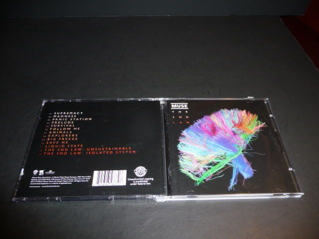The 2nd Law by Muse (CD, Oct-2012, Warner Bros.) 532065-2