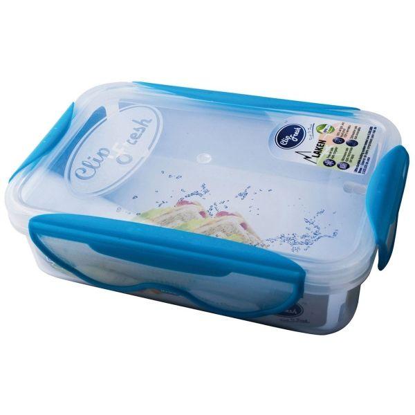 Laken BPA-fri madkasse 0,6L - Blå