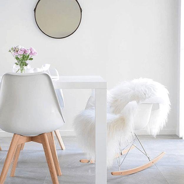 17 Best Ideas About Sheepskin Rug On Pinterest White Fur