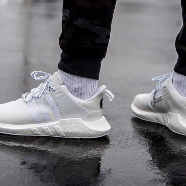 release date: b1a7e c10b8 adidas EQT Support 93/17 Gore-Tex White em 2019 | snekers | Adidas ...