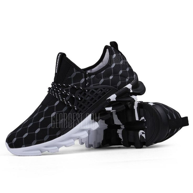 [ $37.30 ] Male Breathable Multi-functional Outdoor Anthletic Shoes  -  40  BLACK