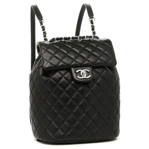 chanel backpack - Google Search ❤ liked on Polyvore featuring bags, backpacks, backpack, chanel bags, knapsack bag, day pack backpack, backpack bags and chanel backpack
