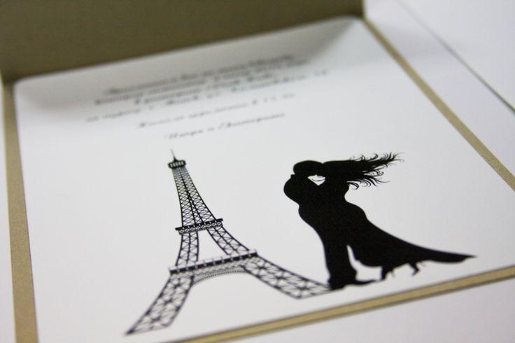 Приглашения на свадьбу Париж