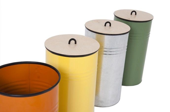 Pedersen + Lennard recycle bins in a variety of fun shades, R395 ($52)