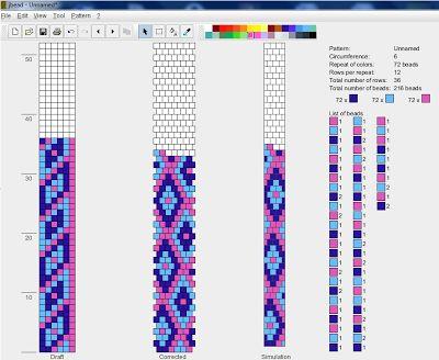 koralikomania: 6 around: Beadcrochet, Peyote Sd, Downloads Patterns, Wzori Sznurków