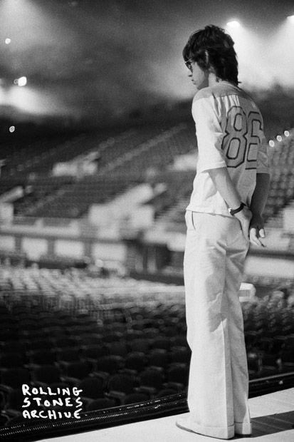 vintage everyday: Photos of The Rolling Stones European Tour 1973