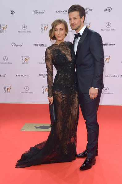 Annemarie Carpendale and Wayne Carpendale attend the Bambi Awards 2013 at Stage Theater on November 14, 2013 in Berlin, Germany.