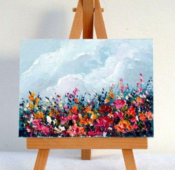 Nun, die in diesem Artikel aufgeführten Ideen für künstlerische Miniaturmalereien sind kompliziert