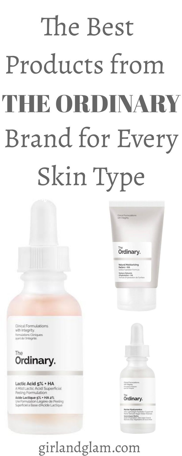 Best Products From The Ordinary Skincare Brand In 2020 The Ordinary Skincare Skin Care Skin Types