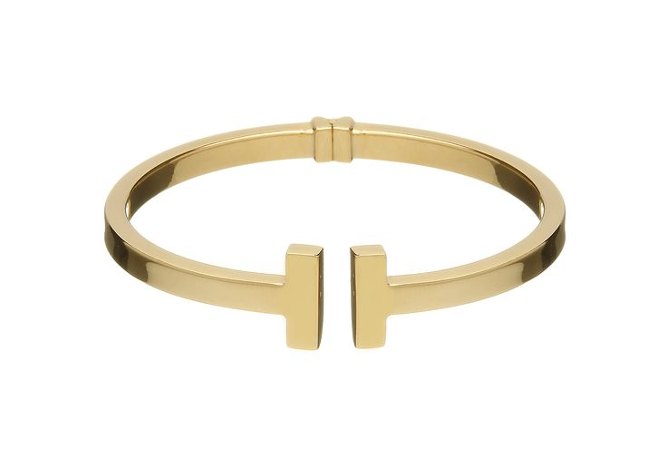 Sterling Silver Gold Plated Hinge Cuff Bracelet from Empress Collection at www.LaurynRose.com
