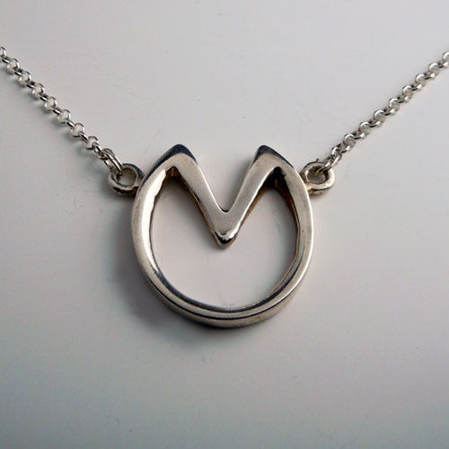 Sterling Silver Barefoot Hoof Necklace is an alternative to horseshoes for those who don't shoe their horses. They are a glorious celebration of the shape of a horse's hoof! For barefoot adherents thi