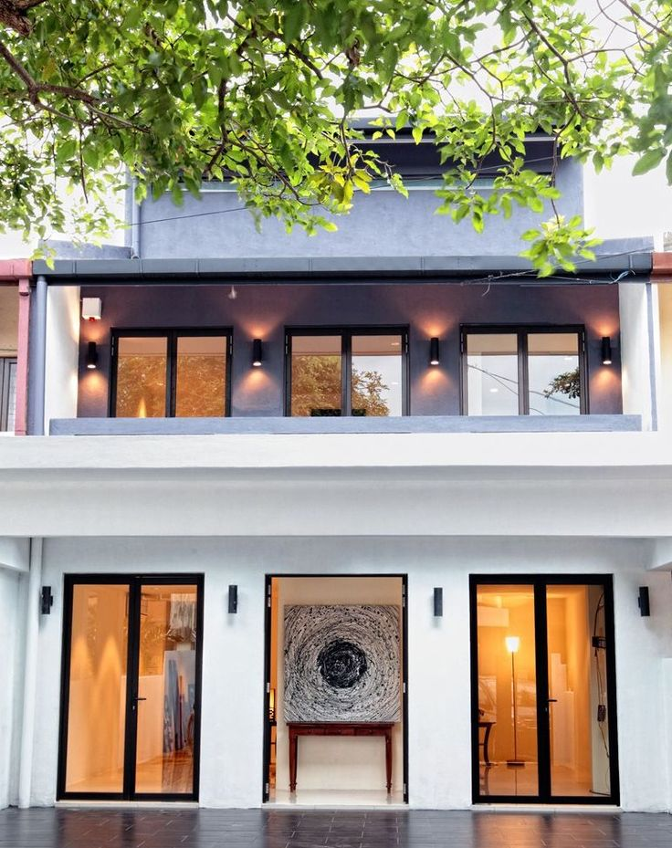 Renovated bangsar terrace home my style pinterest for Whats a terraced house