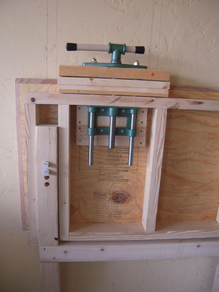 Fold Down Work Bench for my Garage Work Shop - Imgur