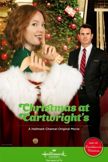 Christmas At Cartwright's is a 2014 Hallmark Channel Original Movie starring Alicia Witt, Gabriel Hogan, Wallace Shawn, T.J. McGibbon, Linda Kash and Gabrielle Miller. Plot: A single mom gets a holiday job as a department store Santa to help boost her finances, and then an angel enters her life and brings about some positive changes, including the spark of a new romance. Genre: Romance, Family, Fantasy.