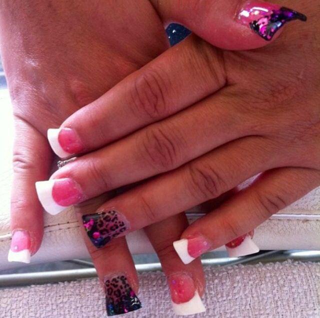 Pin by erika ramirez on nails pinterest for Acrylic nails at salon