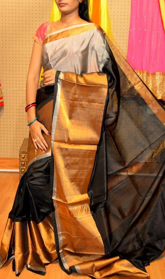 1a86d530d3 New Arrival Uppada Silk Sarees   Sarees   Silk sarees, Saree, Black saree