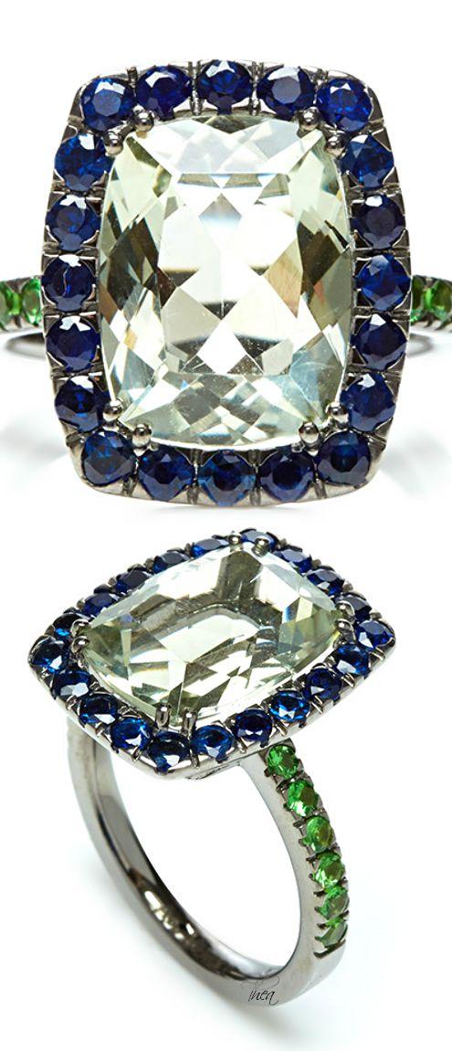 A & Furst ● Prasiolite Ring
