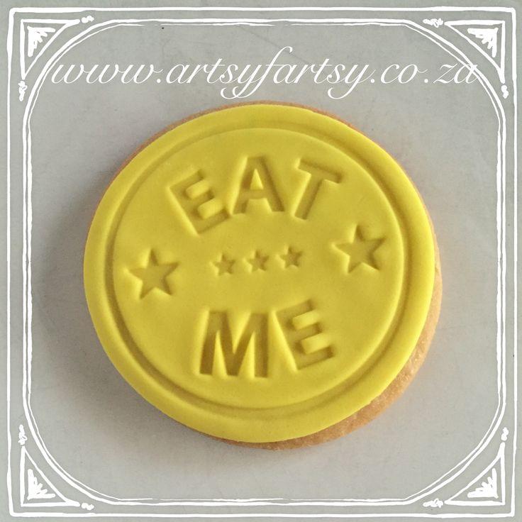 Alice in Wonderland Eat Me Cookie #aliceinwonderlandcookie #eatmecookie