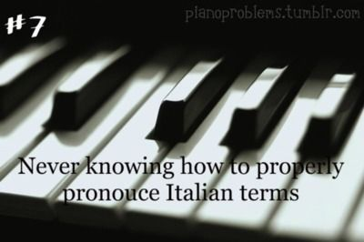 Piano Problems #7 people ask me what song I'm playing I never know how to pronounce it