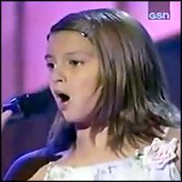 baby Tori Kelly!  :) 10 Year-Old Sings a Fantastic Version of Blessed on Star Search - Music Video