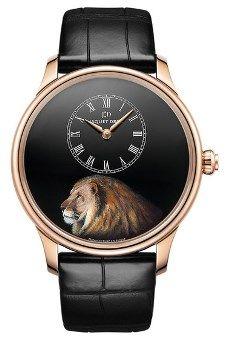 Jaquet Droz Petite Heure Minute Lion