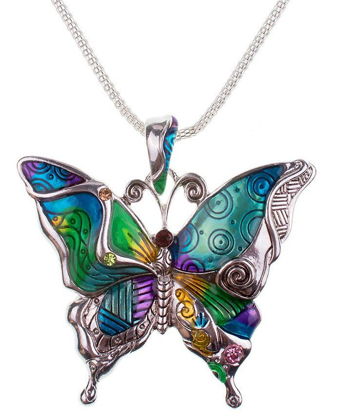 LIMITED OFFER AND FREE SHIPPING A Butterfly necklace you can carry everywhere you go, while at the same time you display your support and love for this unique animal. - This is perfect for you, or as