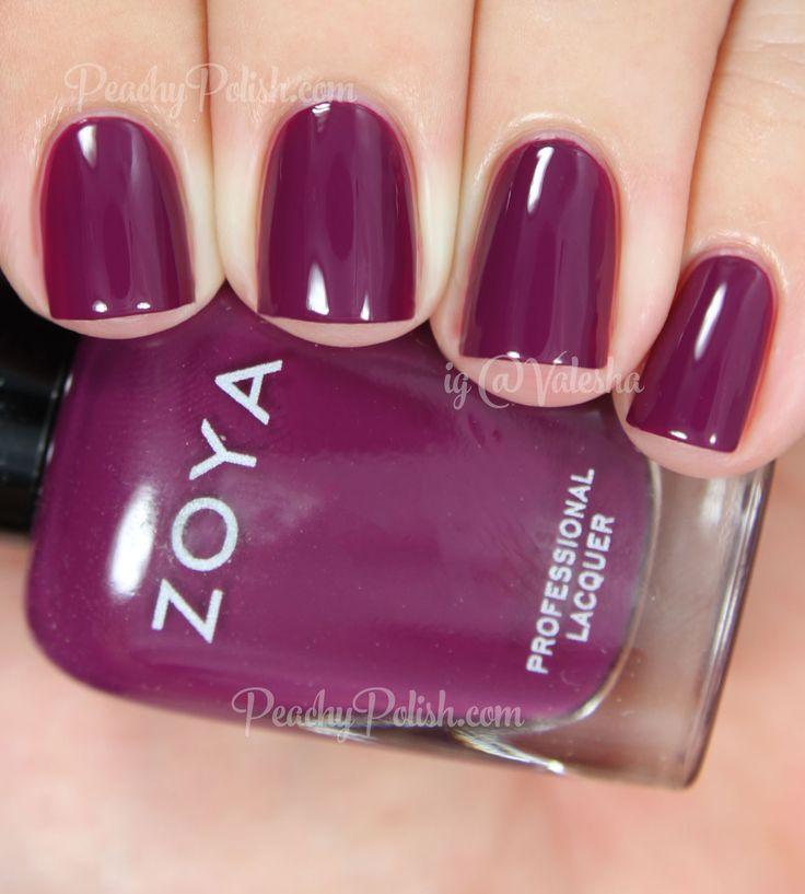Zoya Margo | Fall 2014 Entice Collection | Peachy Polish