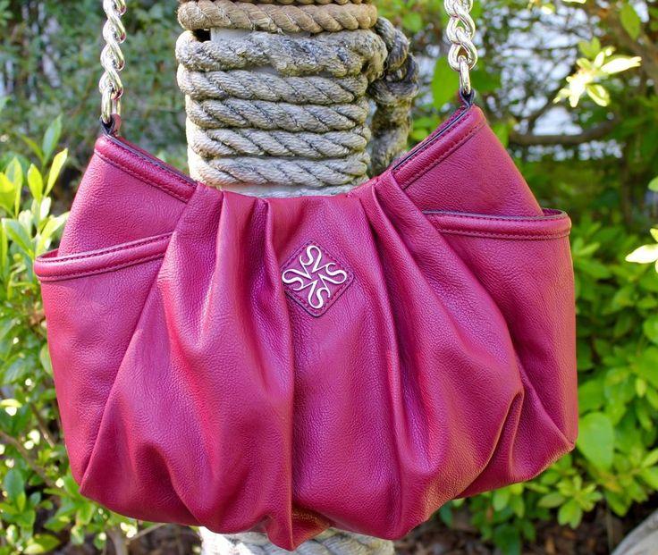 Simply Vera Vera Wang Deep  Fuchsia Pink Handbag  #SimplyVeraWang #ShoulderBag