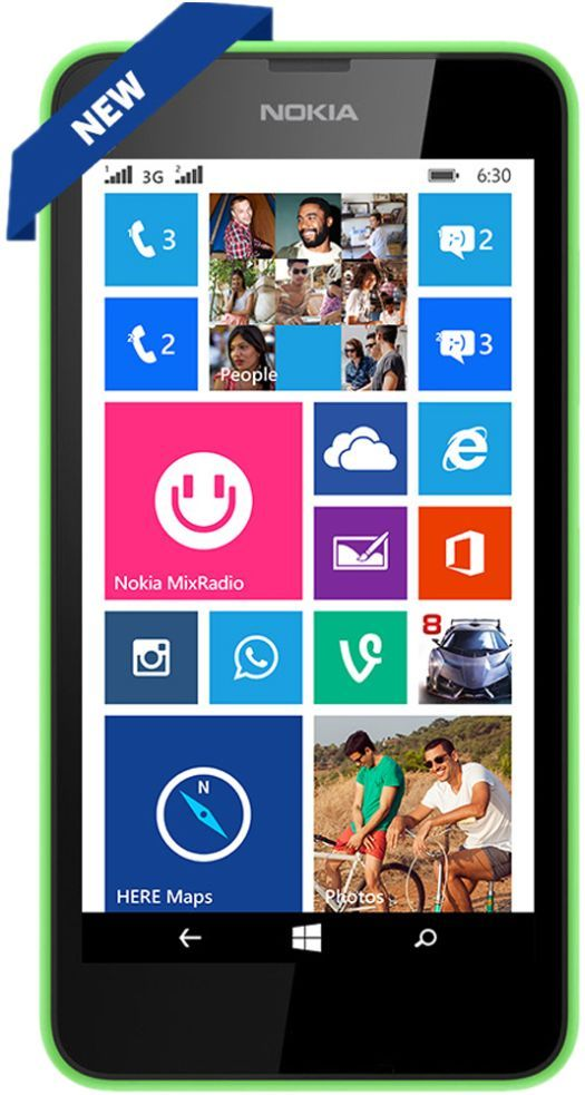 Nokia Lumia 630 Single Sim (Green)
