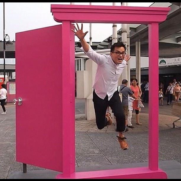 Thx #林家楝 (^-^)你跳過#隨意門 去#打雷台 ? - @doraemon100- #webstagram