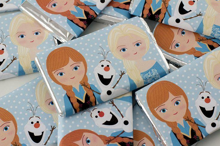 Kit de fiesta gratis Frozen