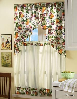 Colebrook Tier Curtains-country curtains | New Home Ideas- Decor ...
