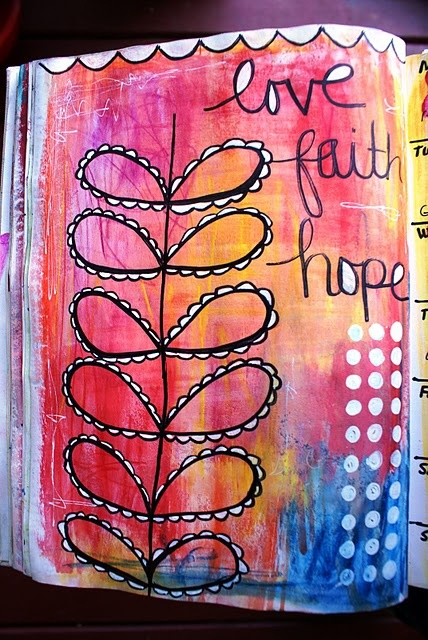 Love Faith Hope Children S Sunday School Crafts