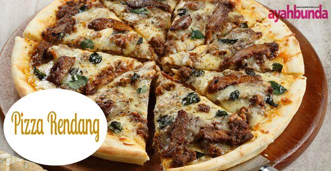 Pizza Rendang :: Klik link di atas untuk mengetahui resep pizza rendang