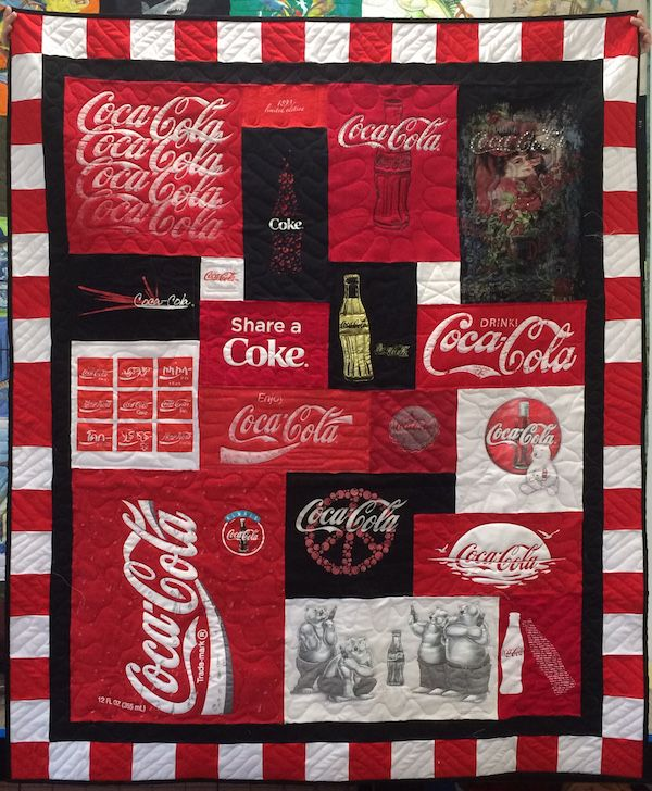 58 best Theme T-shirt Quilts images on Pinterest | Shirt quilts ... : cancer quilts for sale - Adamdwight.com