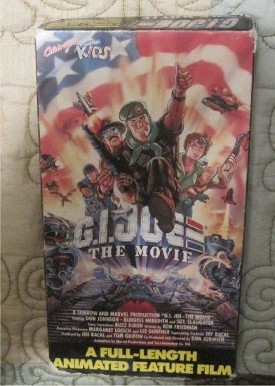 GI+Joe+The+Movie++A Full Length Annimated Film Don Johnson  SGT Slaughter