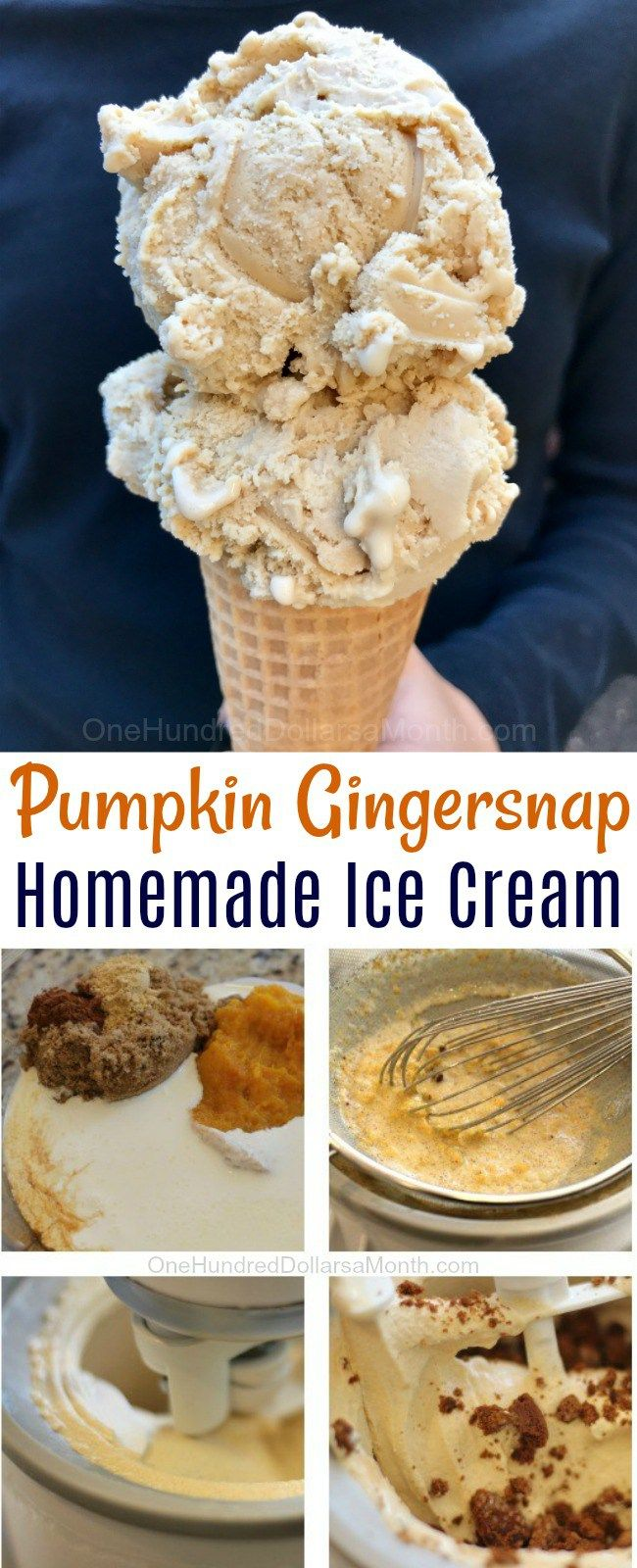Hold on to your seat. This recipe for Homemade Pumpkin Gingersnap Ice Cream by my recipes is da' bomb! I'm not sure if Haggen Daz has pumpkin ice cream, but if they did, this would probably be real close to their recipe. Yummalicious in a cup baby! Ingredients 1 pt. whipping cream 1/2 cup milk …