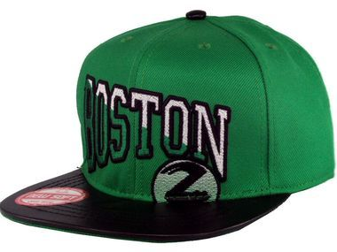Boné Boston Lords Snapback Verde-Preto